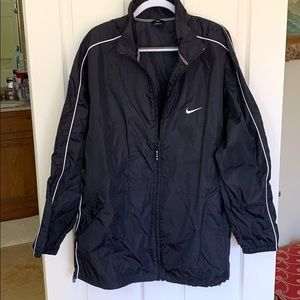 Nike Black Full Zip Windbreaker